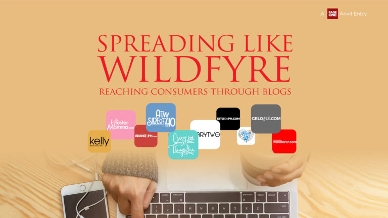Spreading Like Wildfyre: Reaching Consumers Through Blogs